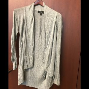 Mossimo lightweight gray cardigan